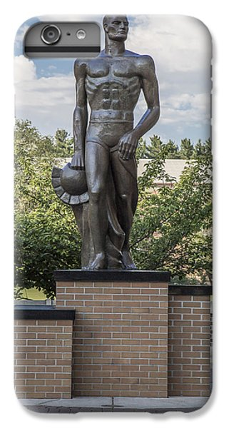 The Spartan Statue At Msu IPhone 6 Plus Case by John McGraw