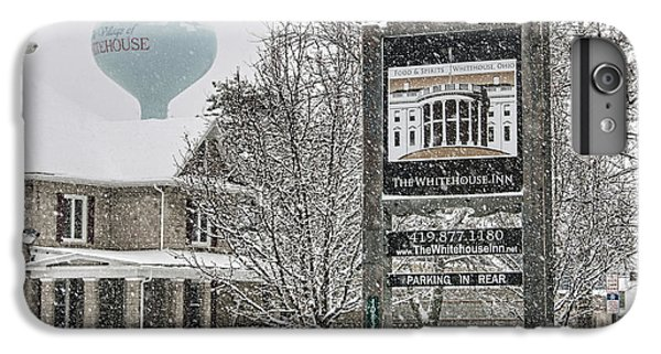 The Whitehouse Inn Sign 7034 IPhone 6 Plus Case by Jack Schultz
