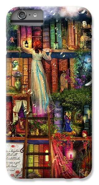 Treasure Hunt Book Shelf IPhone 6 Plus Case by Aimee Stewart