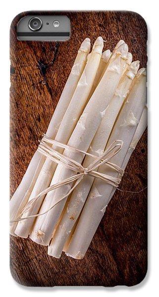 White Asparagus IPhone 6 Plus Case by Aberration Films Ltd