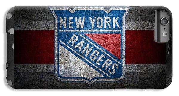 New York Rangers IPhone 6 Plus Case by Joe Hamilton