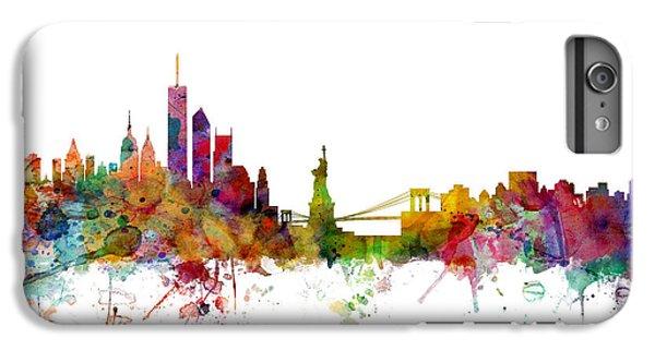 New York Skyline IPhone 6 Plus Case by Michael Tompsett