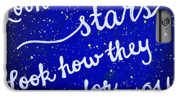 11x14 Look At The Stars IPhone 6 Plus Case by Michelle Eshleman