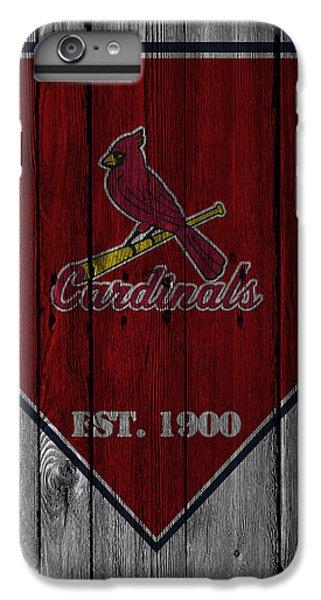 St Louis Cardinals IPhone 6 Plus Case by Joe Hamilton