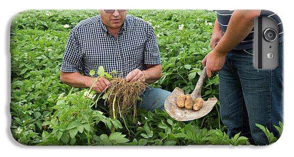Potato Farming IPhone 6 Plus Case by Jim West
