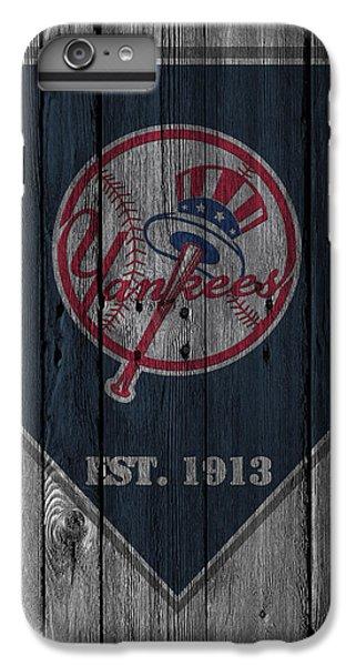 New York Yankees IPhone 6 Plus Case by Joe Hamilton