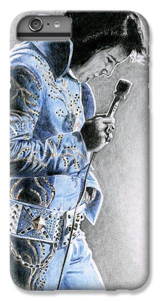 1972 Light Blue Wheat Suit IPhone 6 Plus Case by Rob De Vries