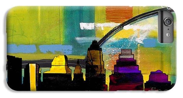 Austin Texas Skyline Watercolor IPhone 6 Plus Case by Marvin Blaine