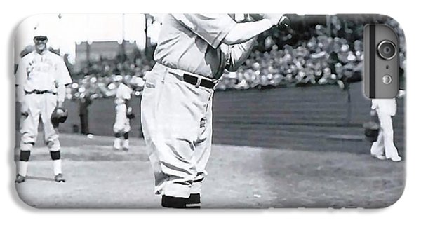 Babe Ruth IPhone 6 Plus Case by Marvin Blaine