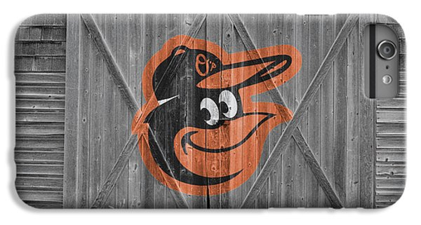 Baltimore Orioles IPhone 6 Plus Case by Joe Hamilton