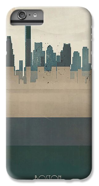 Boston City Massachusetts IPhone 6 Plus Case by Bri B