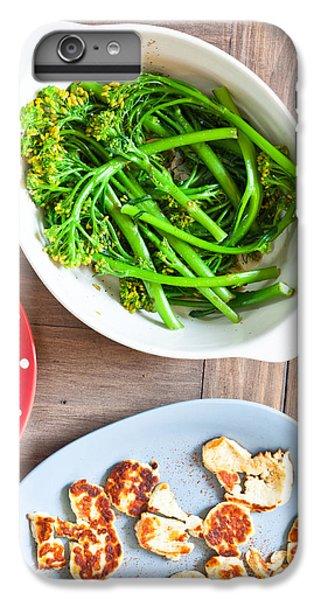 Broccoli Stems IPhone 6 Plus Case by Tom Gowanlock