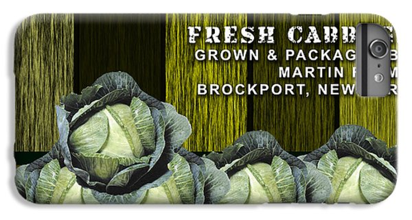 Cabbage Farm IPhone 6 Plus Case by Marvin Blaine