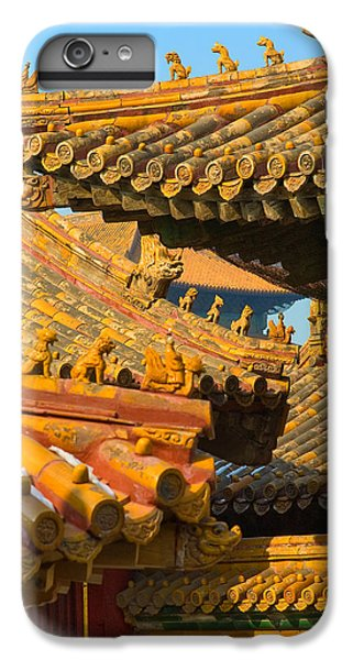 China Forbidden City Roof Decoration IPhone 6 Plus Case by Sebastian Musial