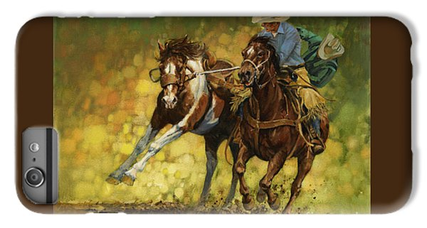 Rodeo Pickup IPhone 6 Plus Case by Don  Langeneckert