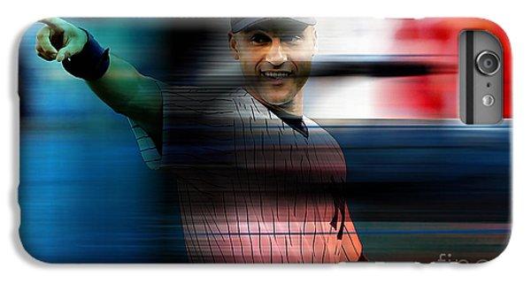 Derek Jeter IPhone 6 Plus Case by Marvin Blaine