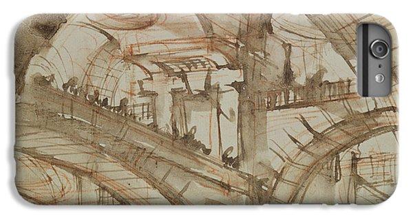 Drawing Of An Imaginary Prison IPhone 6 Plus Case by Giovanni Battista Piranesi