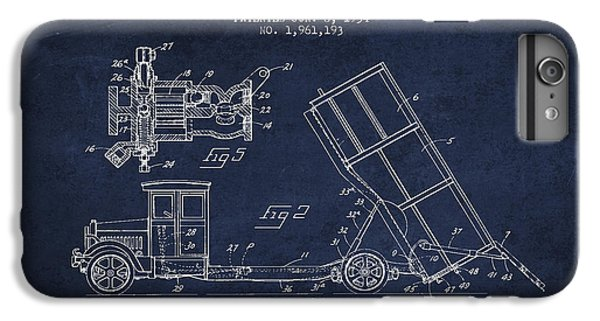 Dump Truck Patent Drawing From 1934 IPhone 6 Plus Case by Aged Pixel