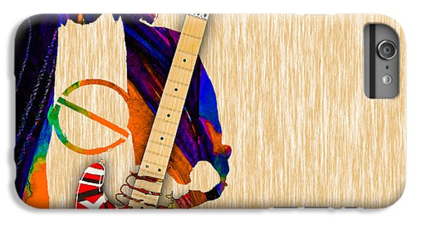 Eddie Van Halen Special Edition IPhone 6 Plus Case by Marvin Blaine