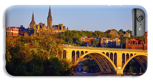 Georgetown IPhone 6 Plus Case by Mitch Cat