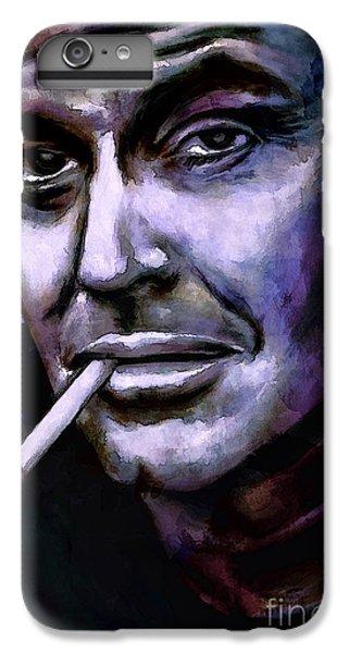 Jack Nicholson IPhone 6 Plus Case by Andrzej Szczerski