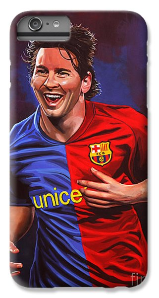 Lionel Messi  IPhone 6 Plus Case by Paul Meijering