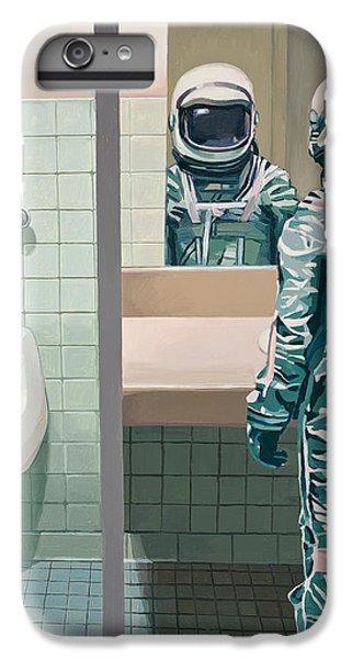 Men's Room IPhone 6 Plus Case by Scott Listfield