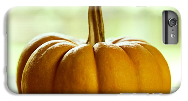 Small Orange Pumpkin IPhone 6 Plus Case by Iris Richardson