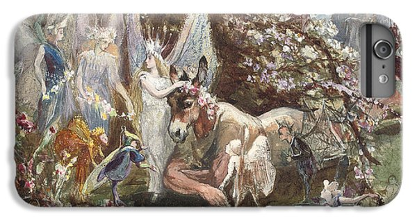 Titania And Bottom IPhone 6 Plus Case by John Anster Fitzgerald