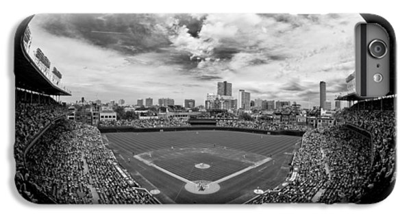 Wrigley Field  IPhone 6 Plus Case by Greg Wyatt