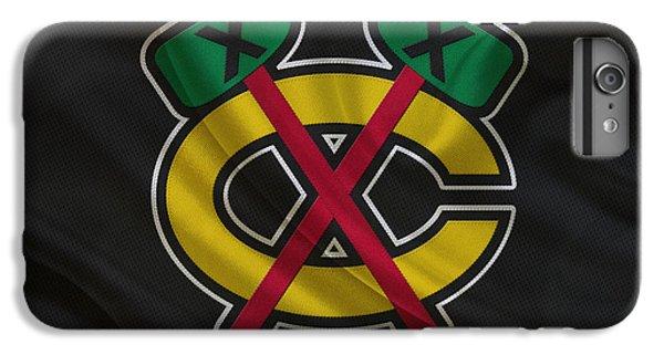 Chicago Blackhawks IPhone 6 Plus Case by Joe Hamilton