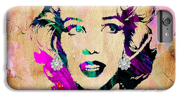 Marilyn Monroe Diamond Earring Collection IPhone 6 Plus Case by Marvin Blaine