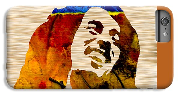 Bob Marley IPhone 6 Plus Case by Marvin Blaine