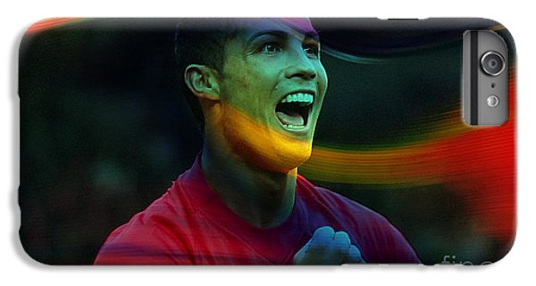 Cristiano Ronaldo IPhone 6 Plus Case by Marvin Blaine