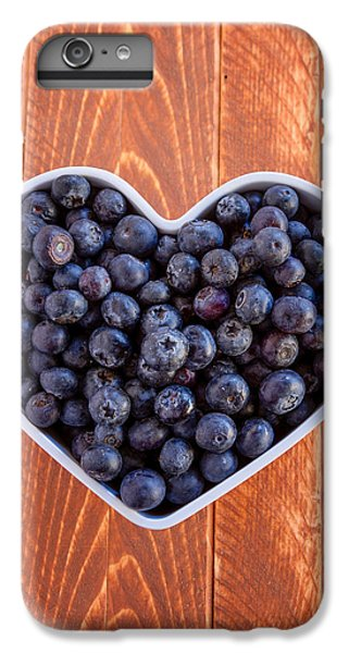 Fresh Picked Organic Blueberries IPhone 6 Plus Case by Teri Virbickis