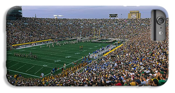 High Angle View Of A Football Stadium IPhone 6 Plus Case by Panoramic Images