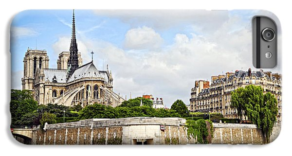 Notre Dame De Paris IPhone 6 Plus Case by Elena Elisseeva