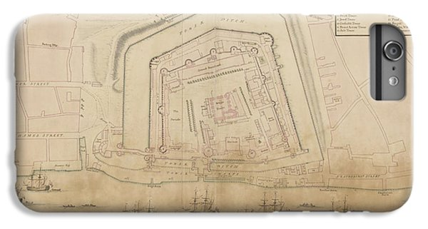 The Tower Of London IPhone 6 Plus Case by British Library