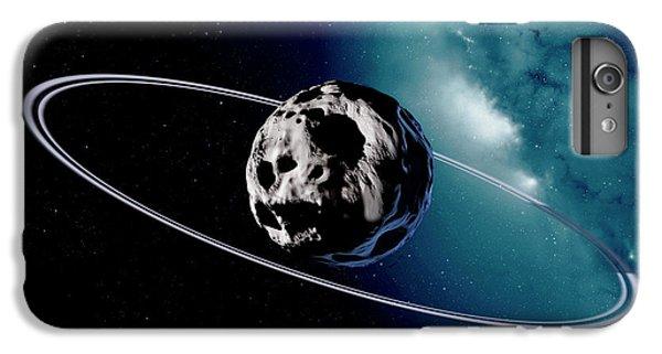 Chariklo Minor Planet And Rings IPhone 6 Plus Case by Detlev Van Ravenswaay