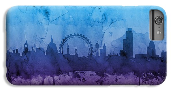 London England Skyline IPhone 6 Plus Case by Michael Tompsett