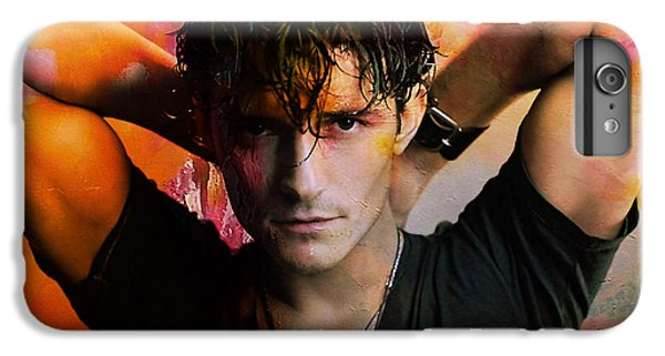 Orlando Bloom IPhone 6 Plus Case by Marvin Blaine