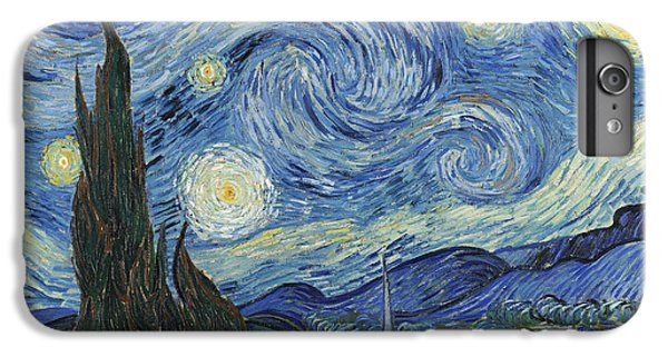 The Starry Night IPhone 6 Plus Case by Vincent Van Gogh