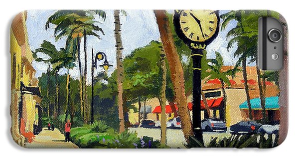 5th Avenue Naples Florida IPhone 6 Plus Case by Christine Hopkins