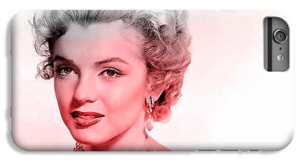 Marilyn Monroe IPhone 6 Plus Case by Marvin Blaine