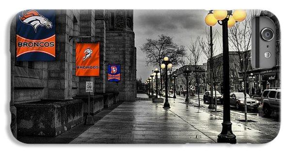 Denver Broncos IPhone 6 Plus Case by Joe Hamilton
