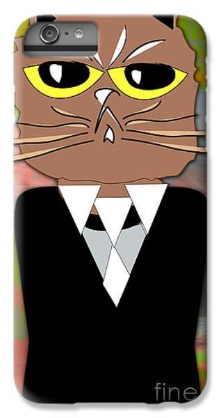 Cool Cat IPhone 6 Plus Case by Marvin Blaine