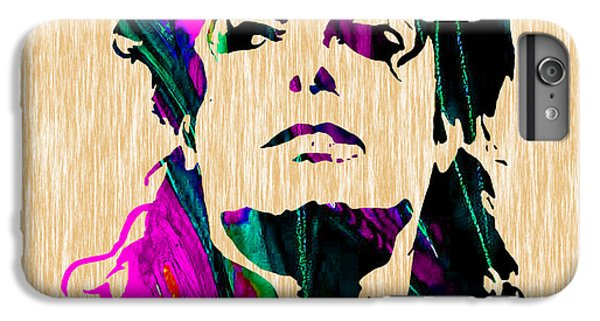 Michael Jackson Painting IPhone 6 Plus Case by Marvin Blaine