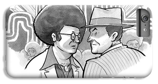 A 70's Disco Man Speaks To Jack Nicholson's IPhone 6 Plus Case by Benjamin Schwartz