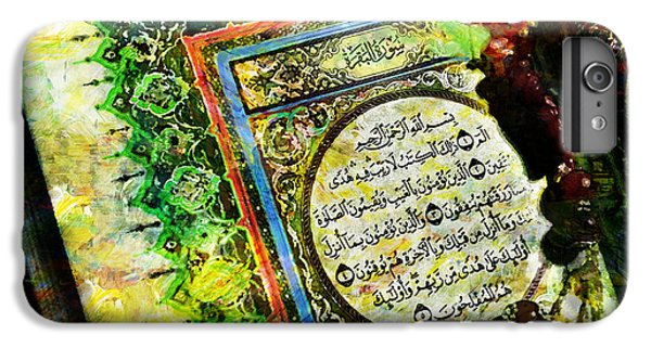 A Page From Quran IPhone 6 Plus Case by Catf