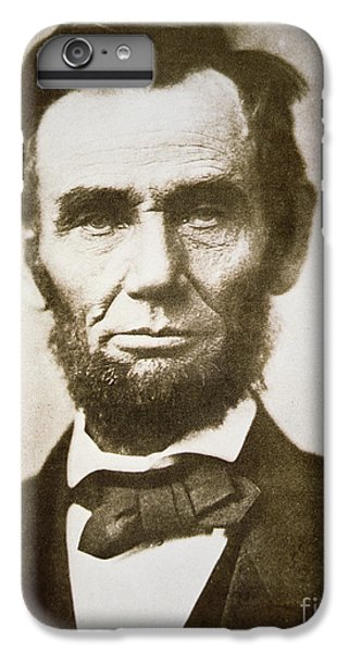 Abraham Lincoln IPhone 6 Plus Case by Alexander Gardner